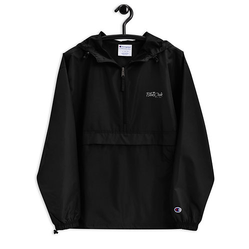 BlacOak Signature Embroidered Champion Packable Jacket