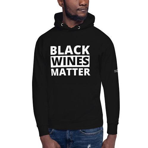 Black Wines Matter Hoodie