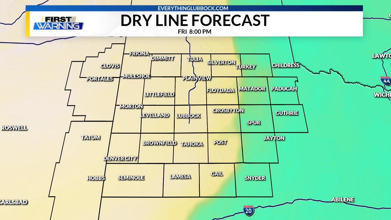 Dry Line Forecast