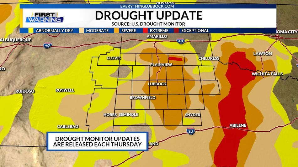 Drought Breaking Rain?