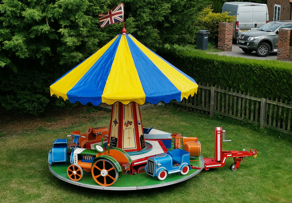 The Little Roundabout Childrens Carousel