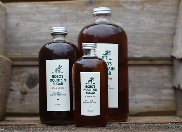 Bobo's Mountain Sugar Maple Syrup