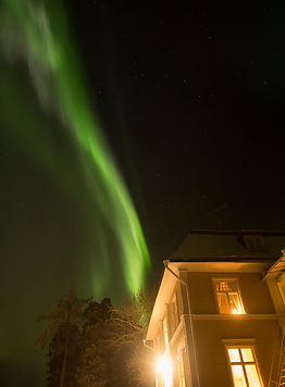 northern lights swedish lapland melderst