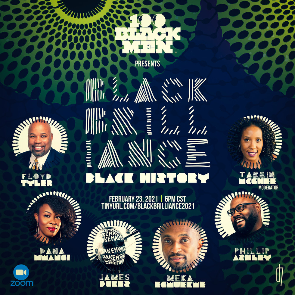 Black Brilliance | Black History - Flyer