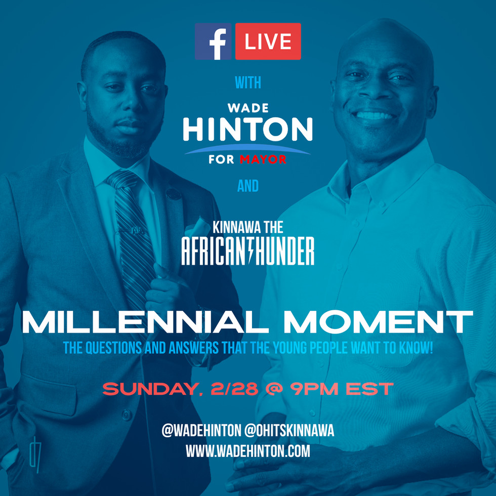 Millennial Moment - Flyer