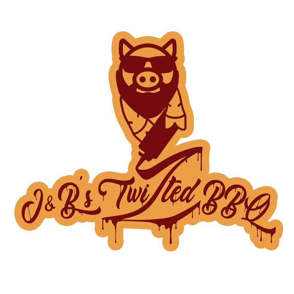 J&B's Twizted BBQ - Logo