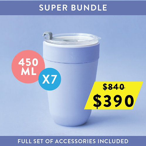 Nest Cup Super Bundle Deal 450ml (7 set)