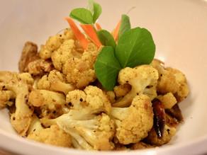 Stir-fried Cauliflower (Kauli Tarkari)