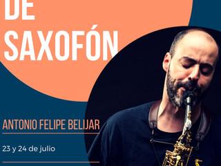 Masterclass de Saxofón - Antonio Felipe Belijar