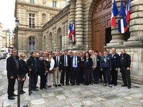 Visite du Sénat avec le Conseil Municipal de Doix les Fontaines