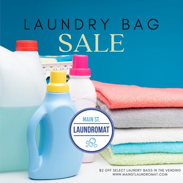 Laundry Bag Sale