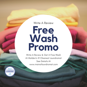 Free Wash For New Customers