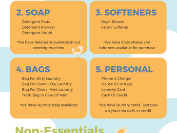 The Best Handy Checklist For Going To The Laundromat