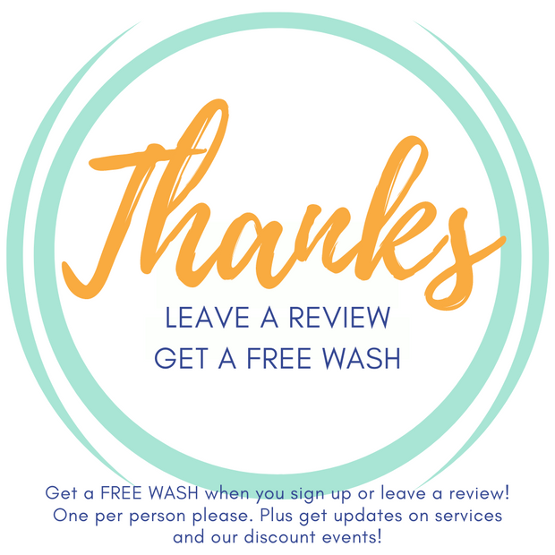 Leave A Review Get A Free Wash
