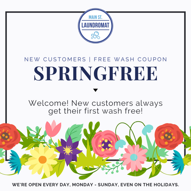 Free Wash Promo For New Customers