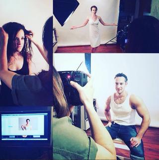 Premier photo shoot / First photo shoot