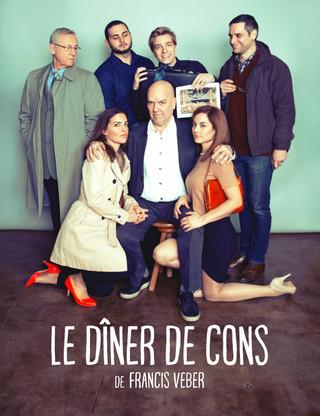 LE DÎNER DE CONS, présenté du 22 février au 16 mars 2019!