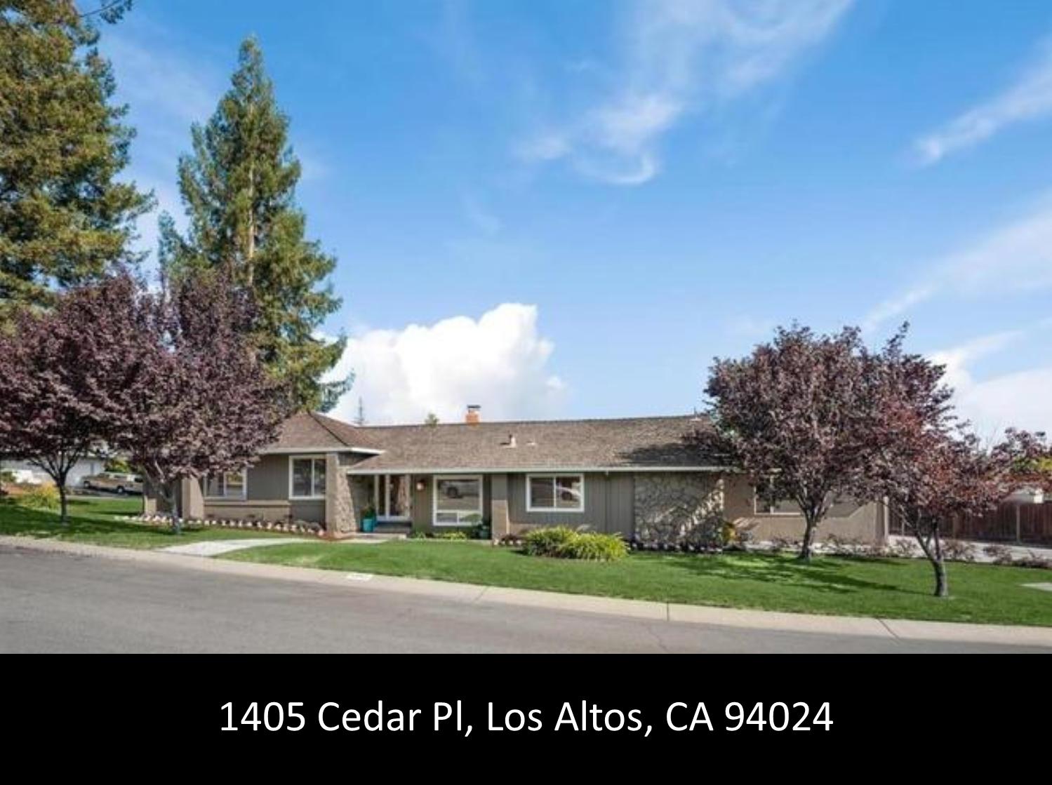 1405 Cedar Pl, Los Altos, CA 94024