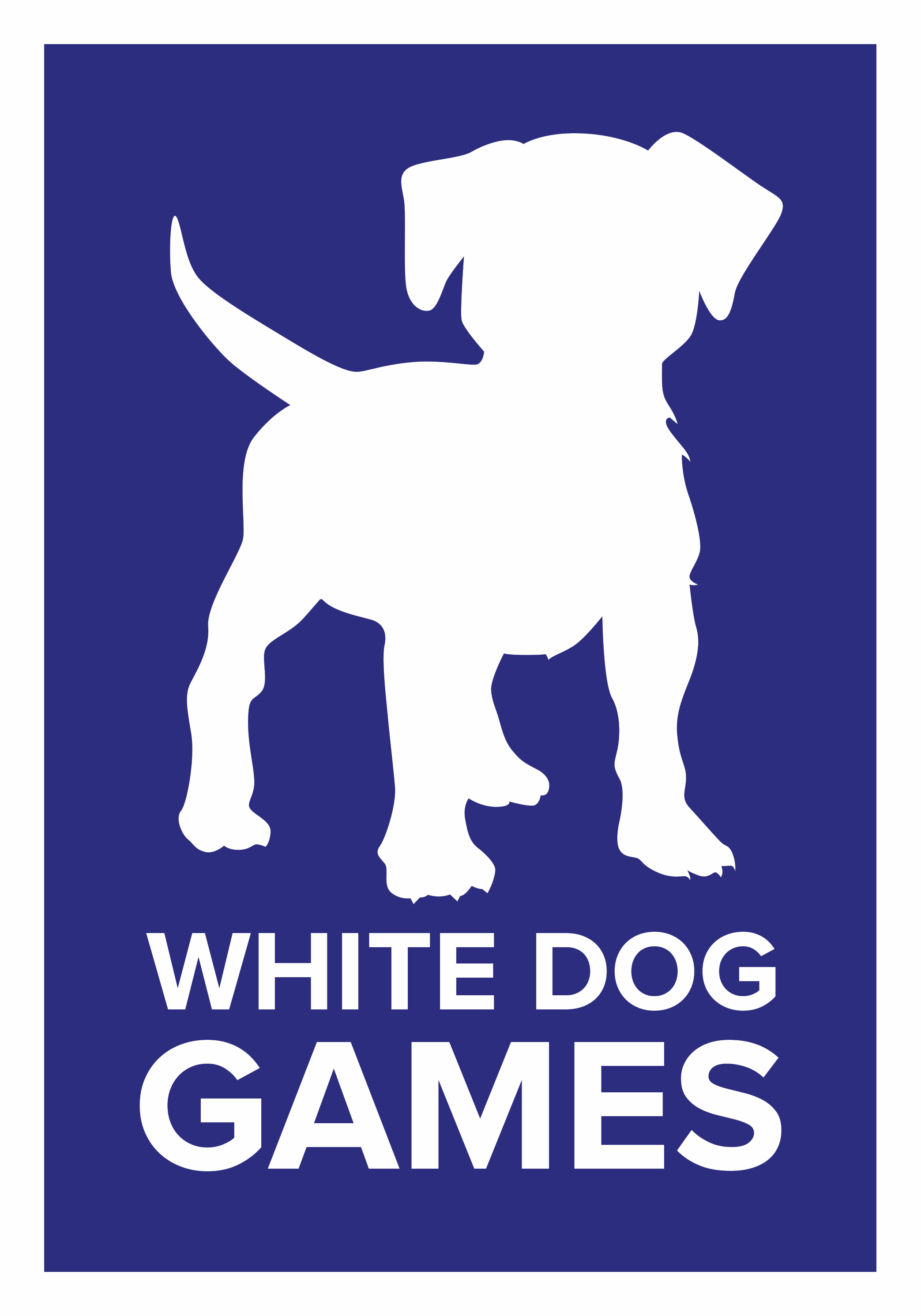 White Dog Games Logo