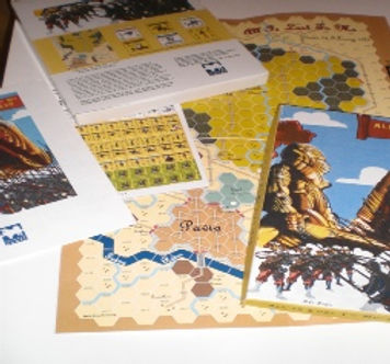 Pavia Game Components