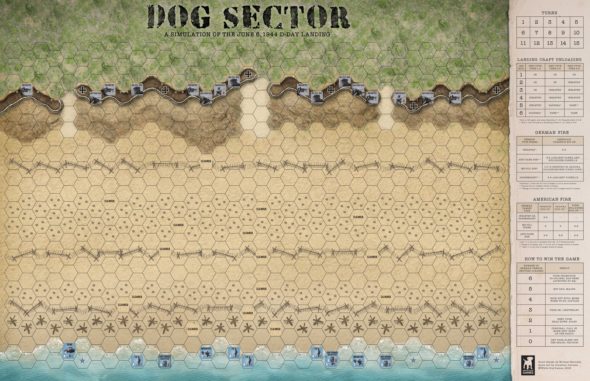 Dog Sector Map Snap