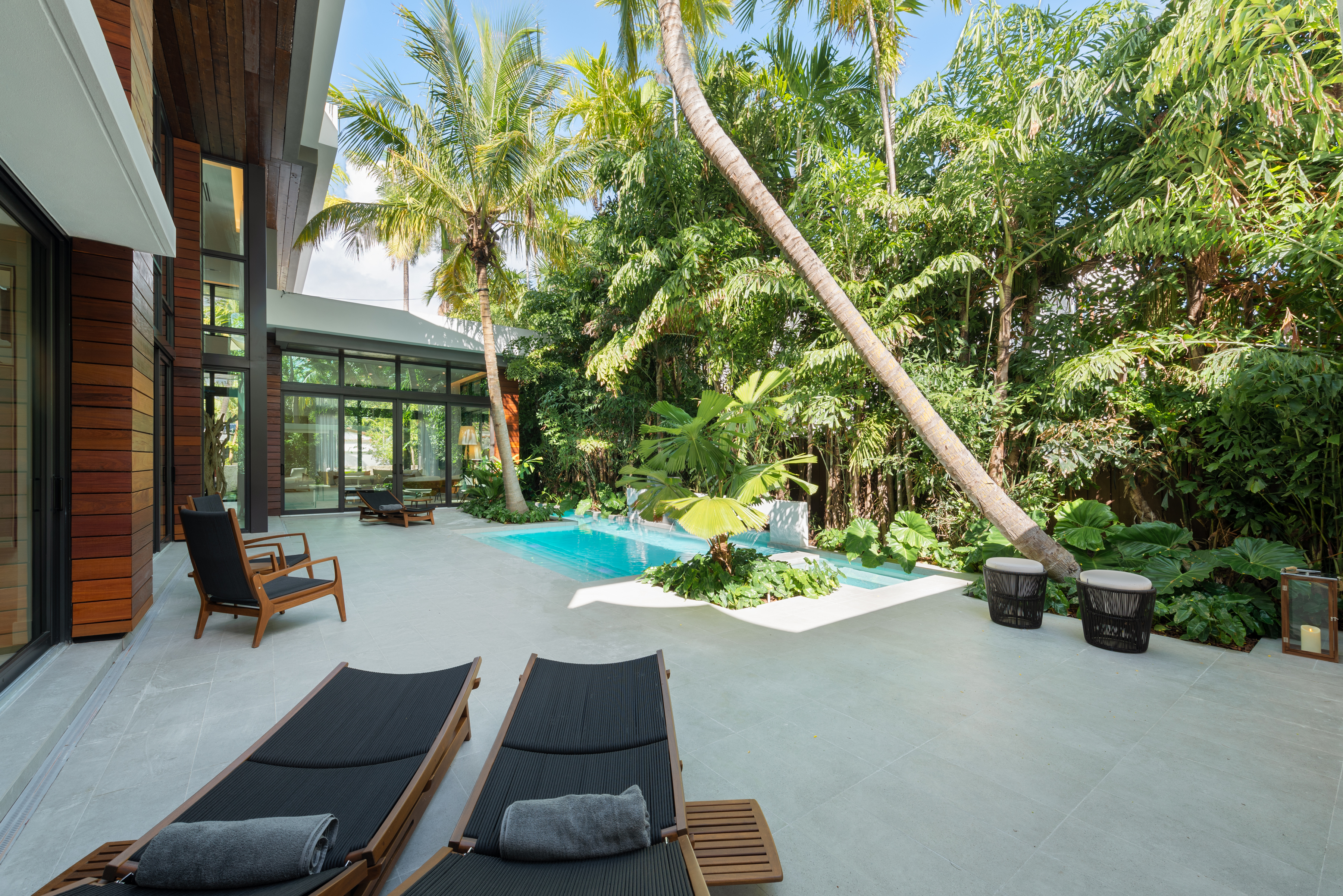 Relax by the Pool in Your Own Tropical Paradise