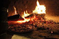 horno de pizza