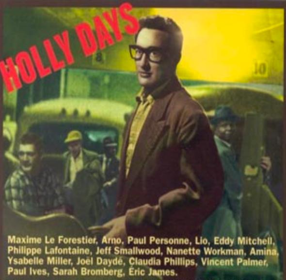 Album Holly Days, hommage à Budy Holly