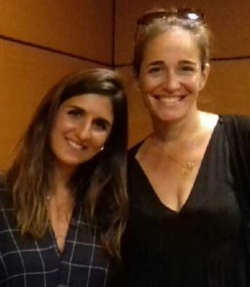 Avec Geraldine Nakache