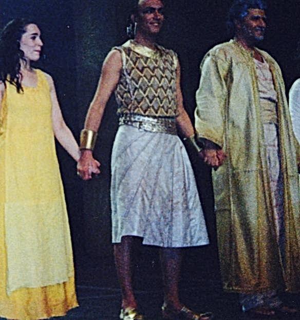 Les dix commandements. Palais des sports, 2000