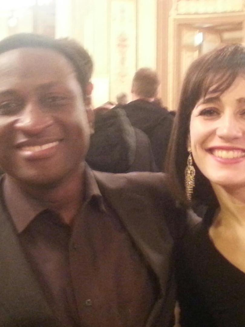 Avec Kwame Ryan