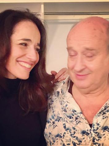 Avec Michel Jonasz