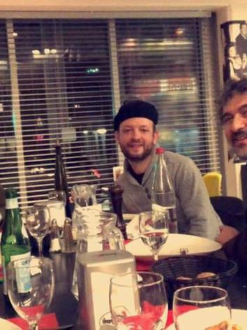 Avec Daniel Levy