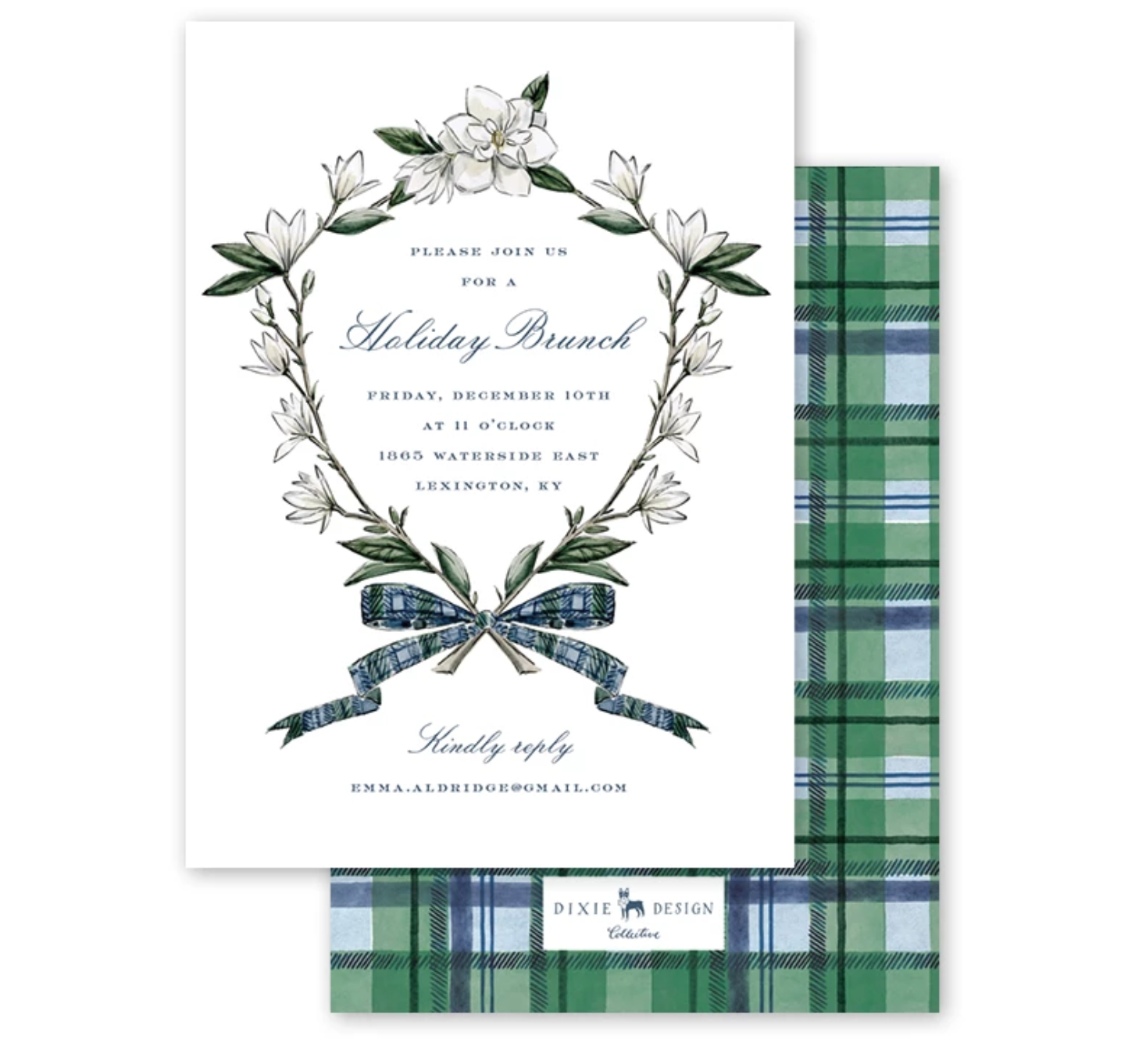 """Magnolia and Tartan"" collection"