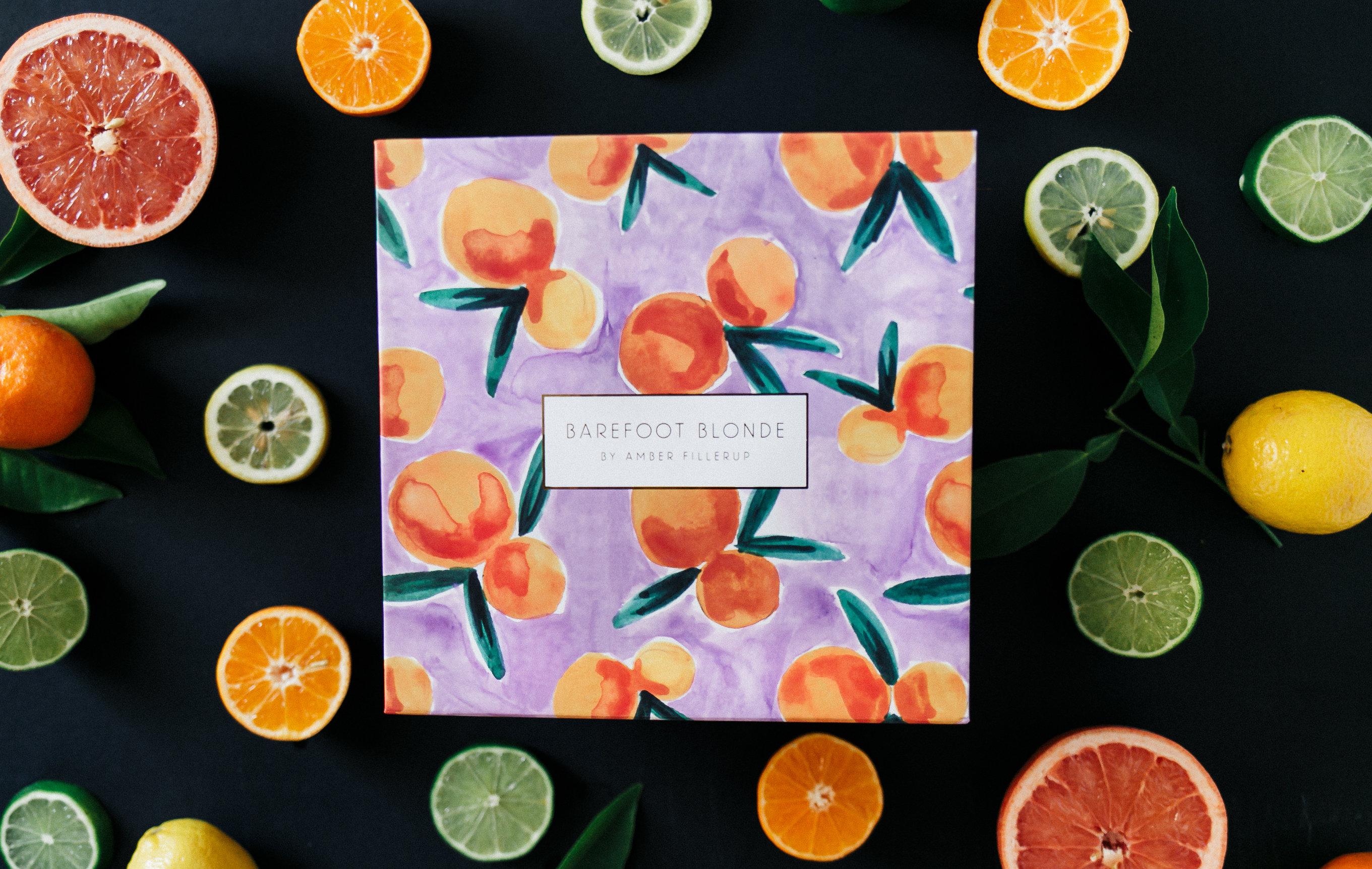 Tangerine print for BFB Hair