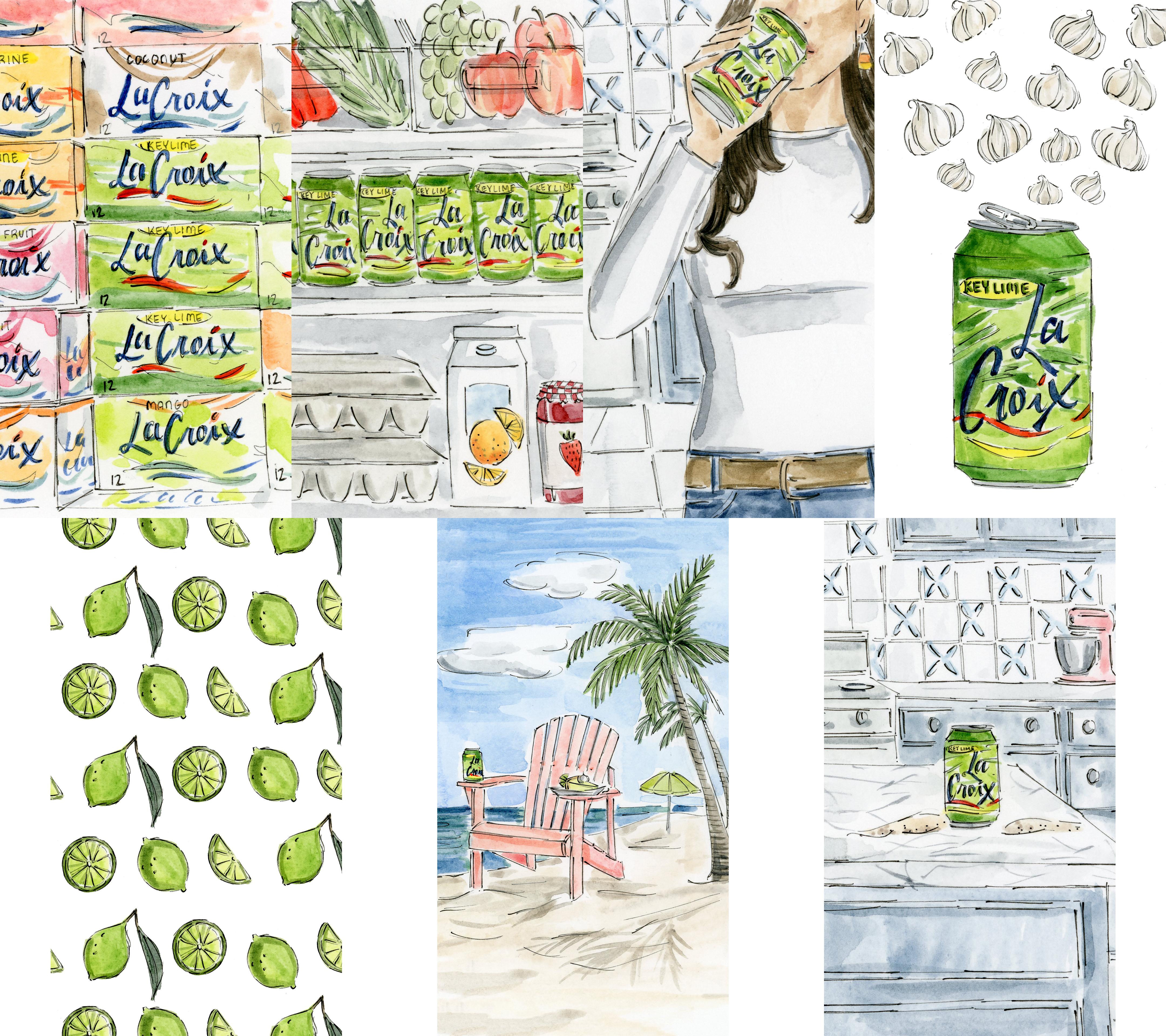 Illustrations for Instagram Stories