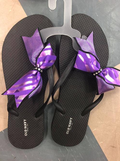 Sandales mauve