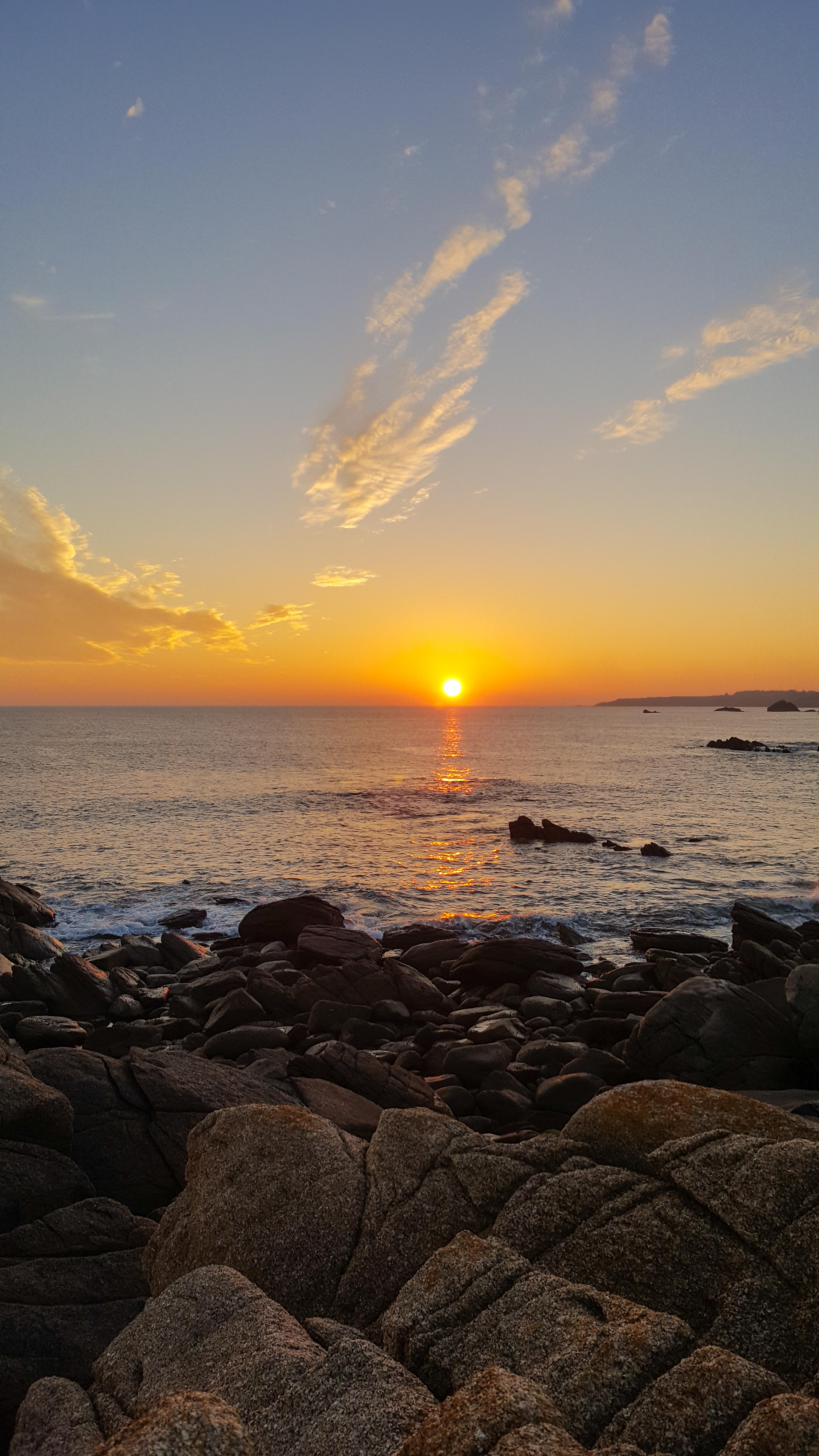 Couché de soleil à Ile d'Yeu