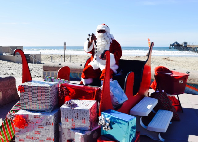 Santa in Imperial Beach