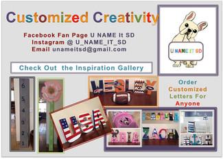 Customized Creativity