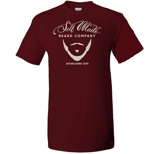 Self Made Adult T-Shirt (Burgundy)