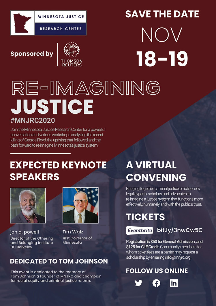 MNJRC Re-imagining Justice Conference Fl