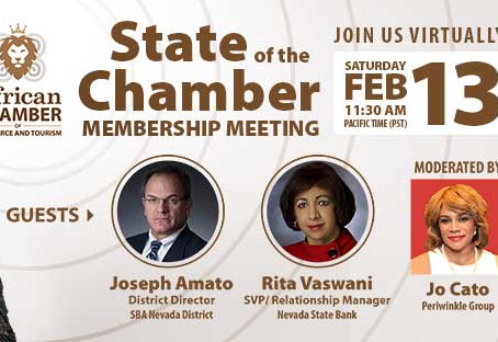 State of the Chamber of Commerce - 2021 Meeting