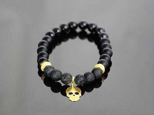 Volcano onyx bracelet