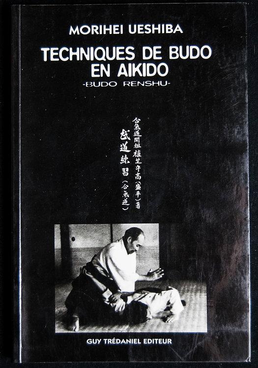 Techniques de BUDO en AIKIDO de Morihei Ueshiba