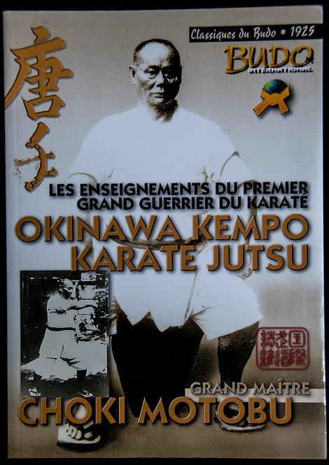 Okinawa Kempo Karate Jutsu de Choki Motobu