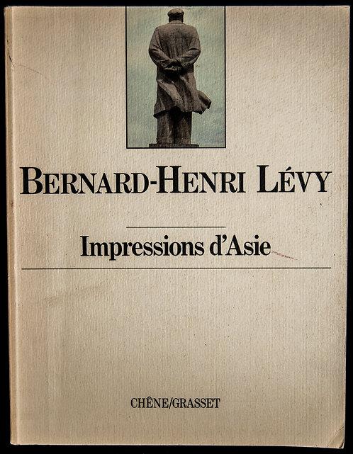 Impressions d'Asie de Bernard-Henri Lévy