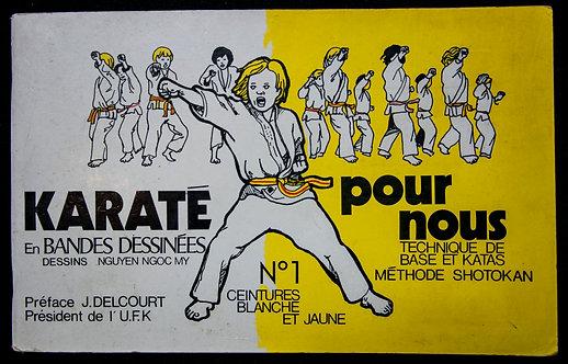 KARATE POUR NOUS en bande dessinées de Nguyen Ngoc My
