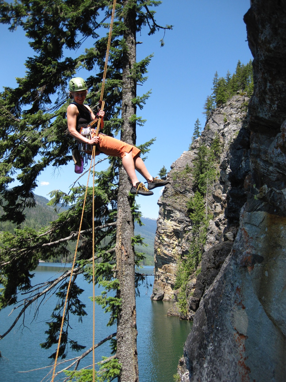 Rock Climbing at WaterWorld