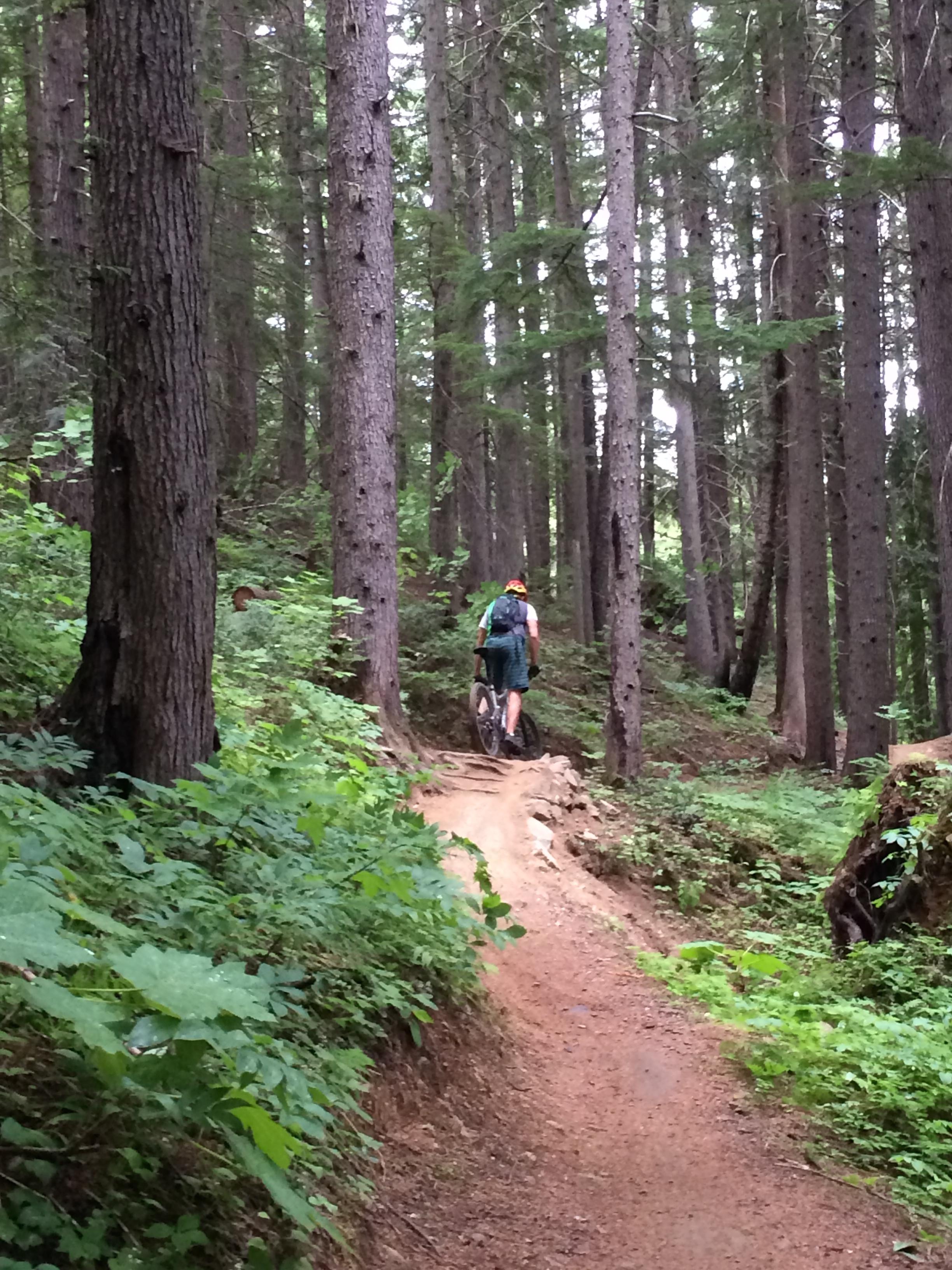 Mountain Biking MacPherson
